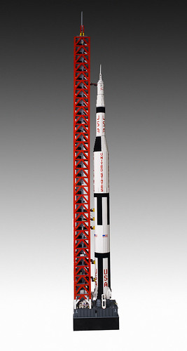 Apollo 11 - LEGO Saturn V Rocket.