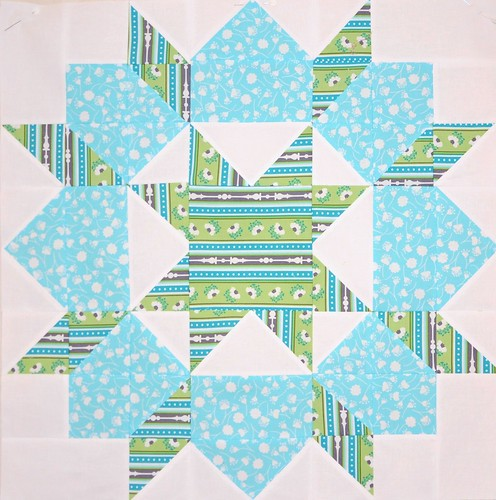 Peacock Swoon Block #3 by sewaddictedtoblogs