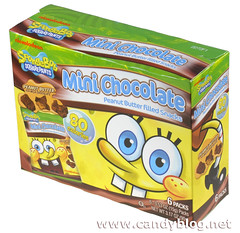 SpongeBob Squarepants Mini Chocolate Peanut Butter Filled Snacks