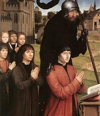Hans Memling (1484), Familia Moreel, varones