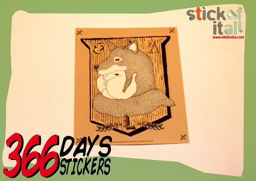 366 Days - 366 Stickers by Vidalooka - Trading again -