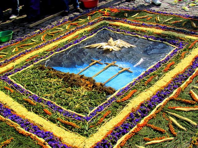 Alfombras para la procesi n del quinto domingo de cuaresma for Antigua alfombras