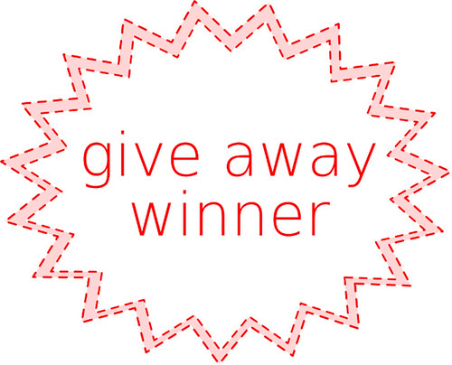 Give away winner