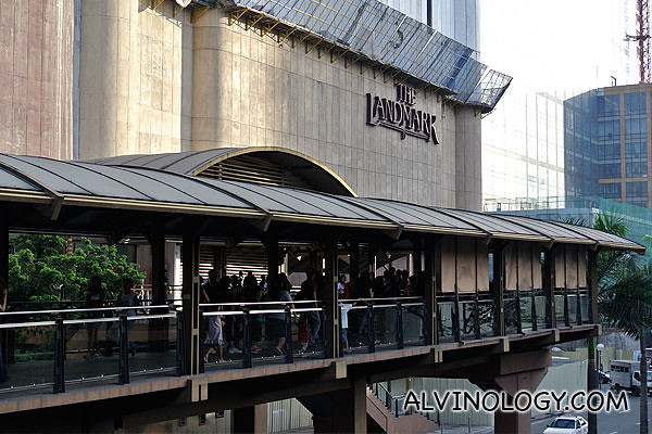 The Landmark shopping centre