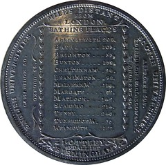 Principal Bathing Places of England medal