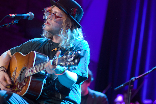 Allen Stone with the Seattle Rock Orchestra