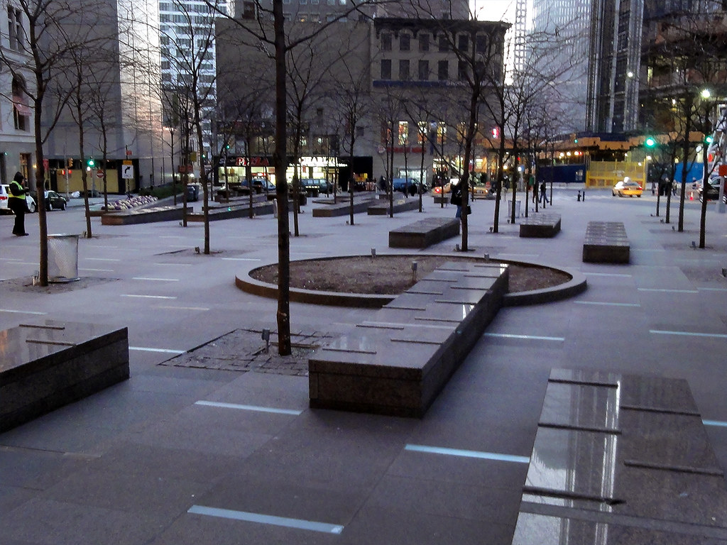 public spaces in new york s financial district an essay acirc umaine downtown new york city two months after zuccotti park raid