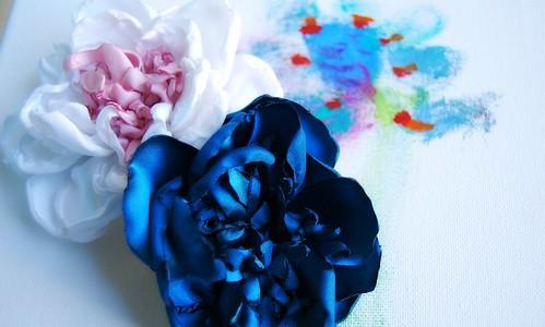Flores de Tecido by Sem Pé