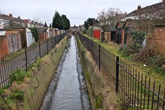 Water channel (River Wandle)