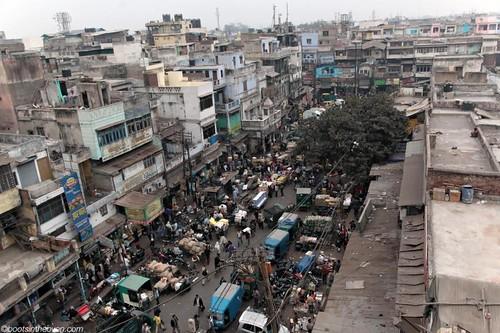 Above Delhi