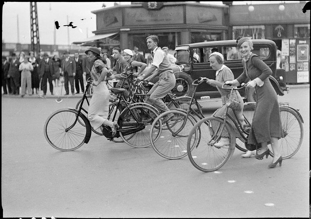 Vintage Copenhagen Bicycle Culture
