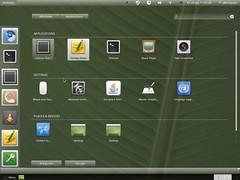 GNOME 3 Activities screen and keystroke launcher