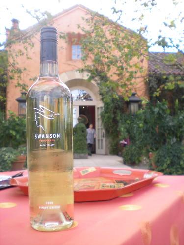 Swanson Vineyards vino