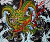 Dragon Tattoo 2012 Acrylic painting