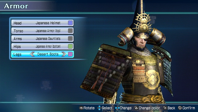 Dynasty Warriors Next Character Customization (1)