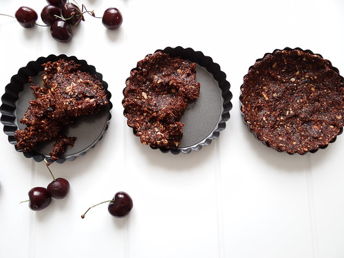cherry almond tartletts