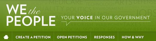 White House petition logo