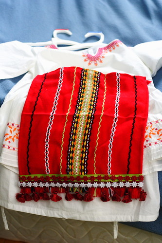 Homemade Bulgarian Costume11