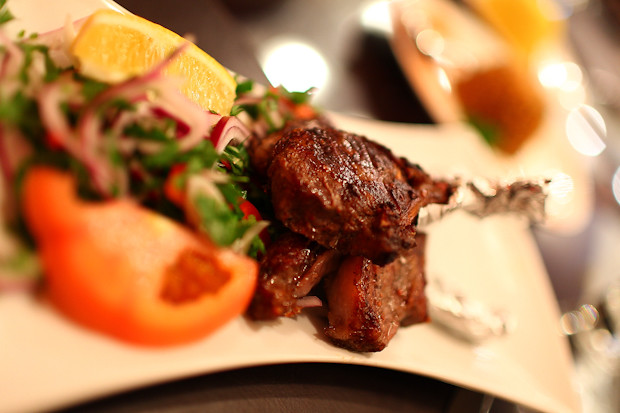 Lamb Meshwegeh at Mamounia Lounge in Knightsbridge