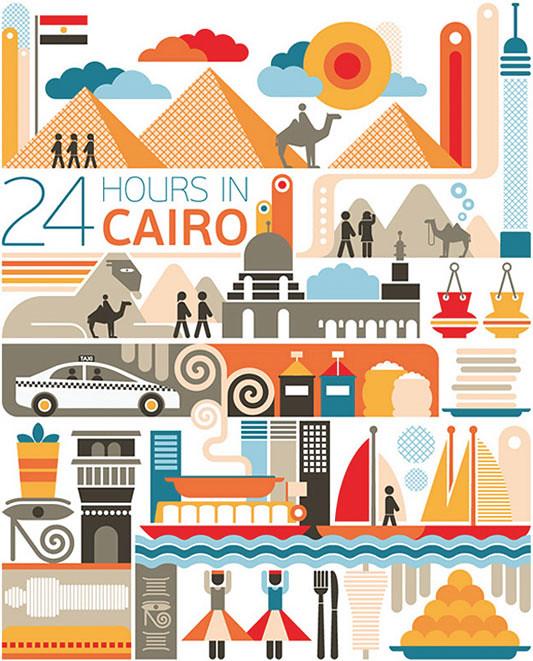 24 horas en el Cairo