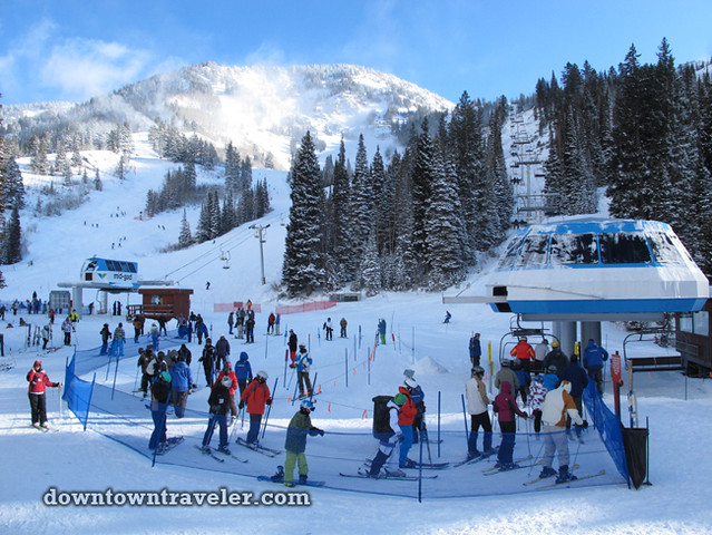 Snowbird ski resort in Salt Lake City Utah