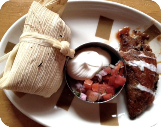 Tamale from Border Grill