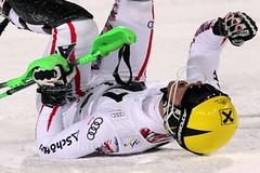 Večerní slalom ve Schladmingu