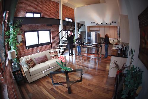 Loft Living Room // Plant 51