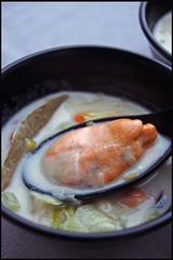 Soupe de moules - Mussel soup Irlande