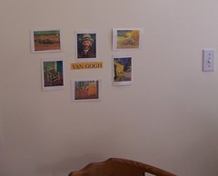 Art Appreciation at Home (Photo from The Montessori Child at Home)