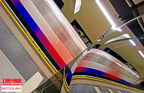 London Underground Abstract by david gutierrez [ www.davidgutierrez.co.uk ]