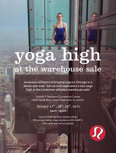 Yoga High Evite