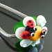Charm bead : Ladybug