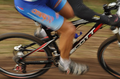 road bicycle(0.0), keirin(0.0), track cycling(0.0), cyclo-cross bicycle(0.0), tarmac(0.0), racing(1.0), endurance sports(1.0), bicycle racing(1.0), mountain bike(1.0), wheel(1.0), vehicle(1.0), mountain bike racing(1.0), sports(1.0), race(1.0), sports equipment(1.0), road bicycle racing(1.0), hybrid bicycle(1.0), cycle sport(1.0), cyclo-cross(1.0), racing bicycle(1.0), road cycling(1.0), duathlon(1.0), cycling(1.0), land vehicle(1.0), bicycle frame(1.0), bicycle(1.0),