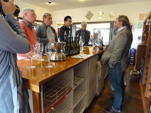 Wine tasting at Highfield Estate (Marlborough)