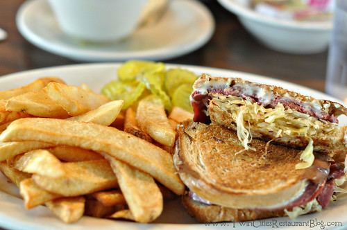 Reuben and Fries at Coffee Cup ~ St Paul, MN