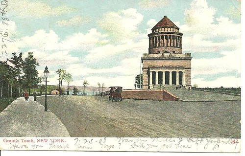 NYC POstcard - Grant's Tomb (Front)