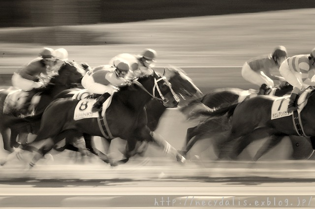 racing...