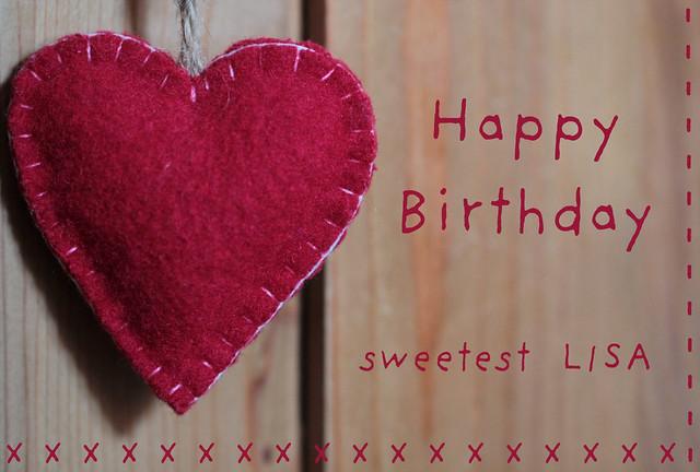 Happy Birthday sweet friend !