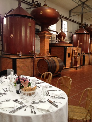 Lunch at the Hennessy Distillery