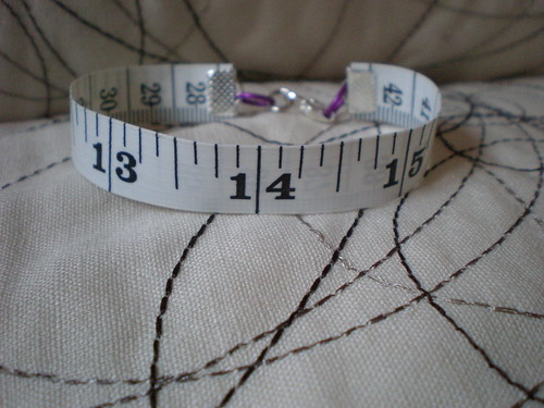 Valentine Tape Measure Bracelet