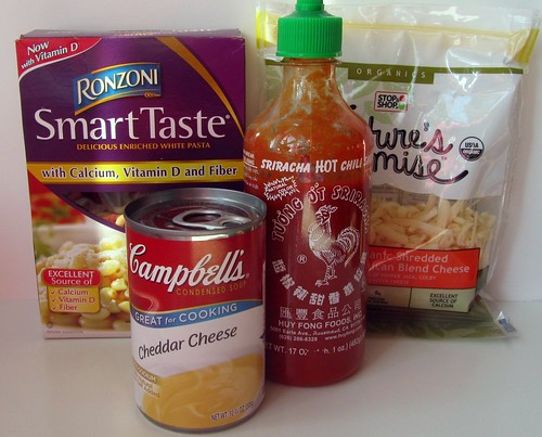 Fast Mac 'n' Cheese Ingredients
