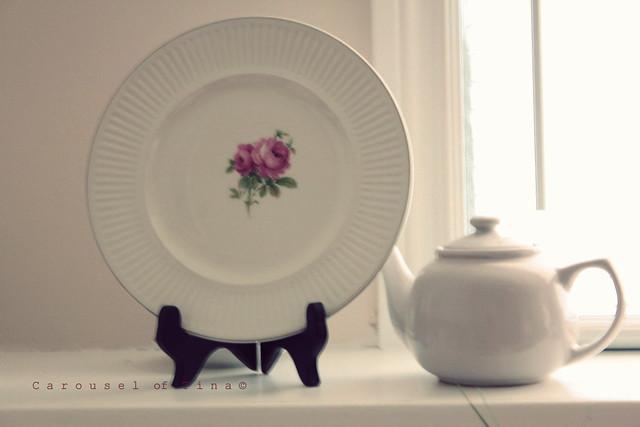 Shabby Chic Plate