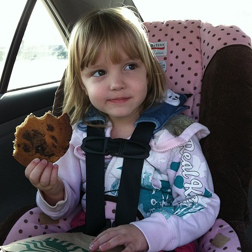 29:365 Megan loves Starbucks cookies!