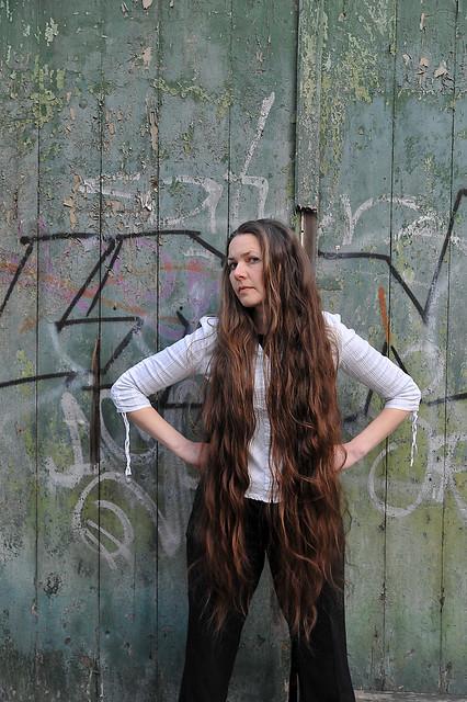 Very Long Hair at The Green Door