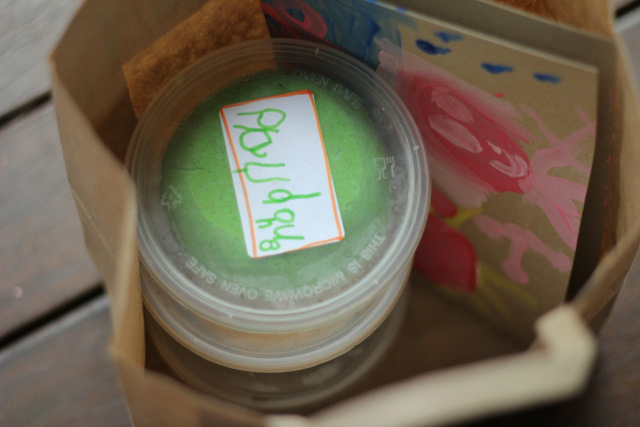 Playdough - My favourite frugal birthday gift.