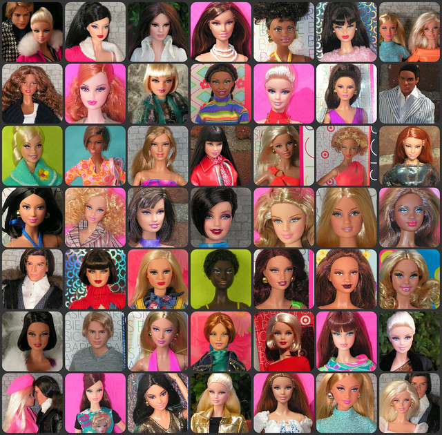 Complete Barbie Basics Collection collage