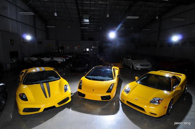 Photoshoot Yellow Cars Exotic Models Teamspeed Com