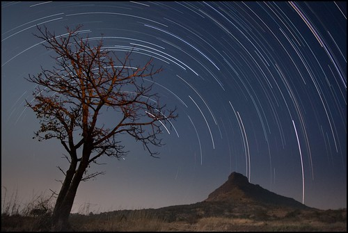 Startrails at Tikona by Bakya-www.bokilphotography.com