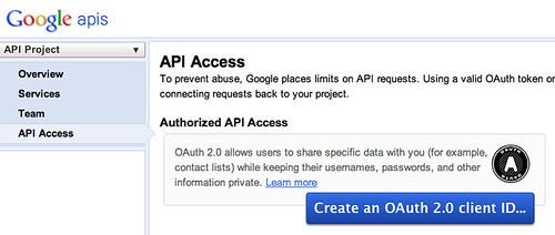Google OAuth2.0